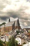 Saarburgdorp Royalty-vrije Stock Afbeelding