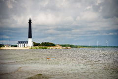 Saare Lighthouse in Saaremaa Stock Photo