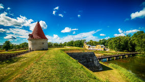 Saarema Island, Estonia: Kuressaare Episcopal Castle Stock Images