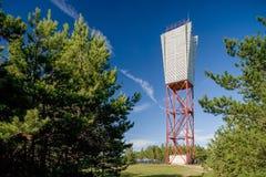 The Light house in Saaremaa. Estonia. Saaremaa. Estonia. The Light house in Royalty Free Stock Images