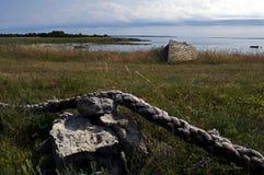 Saaremaa - exciting остров Стоковая Фотография