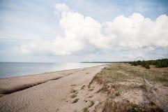 Saaremaa Island, Estonia, coastline Royalty Free Stock Photo
