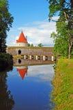 Saaremaa island, Kuressaare castle in Estonia Royalty Free Stock Image