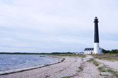 Saaremaa-Leuchtturm Stockfotografie