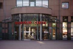 Saarpark中心购物中心诺因基县 库存图片