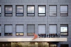 Saarstahl AG Voelklingen Arkivfoto