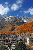 Saas Fee Stock Photos
