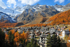 Saas Fee Stock Photography