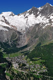 Saas Fee, Switzerland Royalty Free Stock Photo