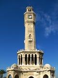 钟塔(Saat Kulesi)在伊兹密尔 免版税图库摄影