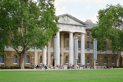 The Saatchi Gallery, famous art gallery in London Stock Photo