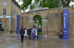 Saatchikunstgalerie Londen stock foto's