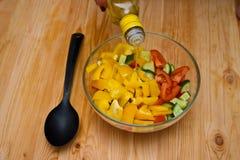 sałatkowy warzywo Zdjęcie Stock