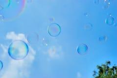 Sabão-bolha Fotografia de Stock Royalty Free
