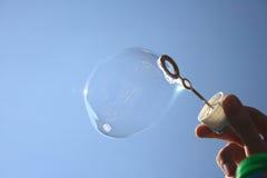 Sabão-bolha Foto de Stock