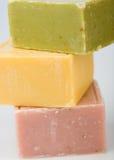 Sabão colorido Fotografia de Stock