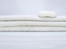 Sabão e toalhas Imagem de Stock Royalty Free