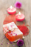 Sabão erval Handmade Imagem de Stock