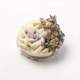 Sabão feito a mão como rosas, flores, aromaterapia, termas fotos de stock royalty free