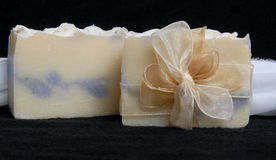 Sabão Handmade Fotografia de Stock Royalty Free