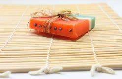 Sabão Handmade Fotografia de Stock