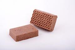 Sabão handmade do chocolate Fotos de Stock Royalty Free
