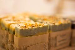 Sabão orgânico natural imagem de stock