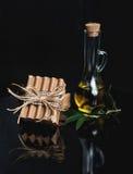 Sabão verde-oliva grego - close up arranjado imagens de stock