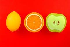 Sabões da fruta fotos de stock royalty free
