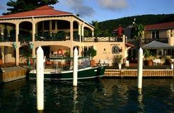 saba утеса курорта острова Стоковая Фотография