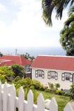 Saba Antille olandesi olandesi Fotografia Stock Libera da Diritti
