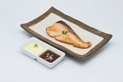 Saba fish grilled Royalty Free Stock Photography