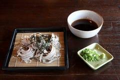 Saba , japanese noodle Royalty Free Stock Photos
