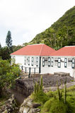 Saba Museum Dutch Netherlands Antilles. Saba Harry L. Luke Johnson Museum sea captain's cottage home Windwardside Dutch Netherlands Antilles stock photos
