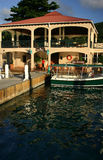 Saba Rock Island Resort Royalty Free Stock Image