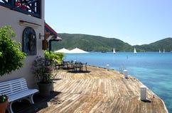 Saba Rock island resort Royalty Free Stock Photography