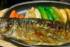 Saba Teriyaki menu Stock Images