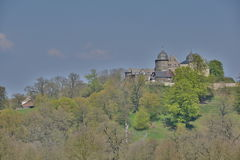 Sababurg城堡 免版税库存图片