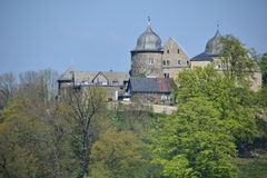 Sababurg Castle in  Hesse Royalty Free Stock Photography