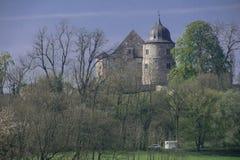 Sababurg im Reinhardswald Stockfotografie