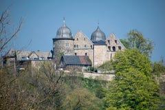 Sababurg im Reinhardswald in Nordhessen Lizenzfreies Stockfoto