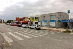 Sabadell bank at naptime stock photo