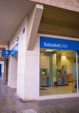 Sabadell branch Royalty Free Stock Images