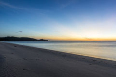 Sabah beach landscape Royalty Free Stock Image