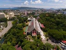 Sabah Museum Kota Kinabalu arkivfoto