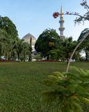 Sabah State Mosque Fairy Tale stockfotos