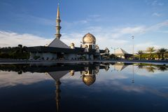 Sabah State Mosque stock images