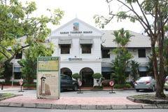 Sabah turystyki deska, Kota kinabalu zdjęcia stock