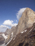 Sabakh and Ashat wall. Ashat wall, Pamir Alai range Kyrgystan Royalty Free Stock Image