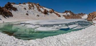 Sabalan jezioro Zdjęcia Stock